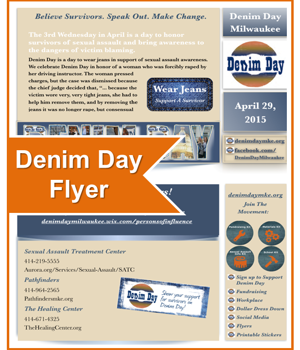 Denim Day Flyer Date