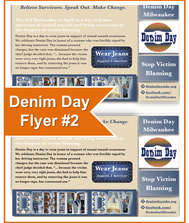 Denim Day Flyer No Date